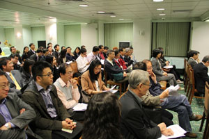 About 60 members attended the AGM on 27 March 2012.